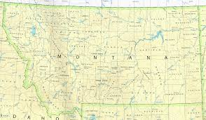 montana maps  perrycastañeda map collection  ut library online
