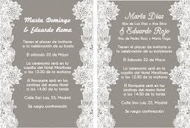 Invitaciones De Boda Y Texto Para Invitaciones De Boda La