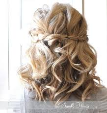 prom hairstyles for short hair half up half down google search