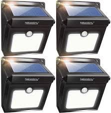 28 led motion sensor solar lights