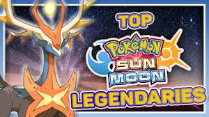 Pokemon Sun And Moon Legendaries, Top 5 Leaks - YouTube