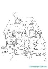 gingerbread house coloring sheet gingerbread house advanced coloring pages coloring pages for kids