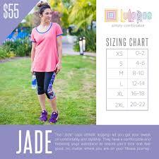 Lularoe Jade Size Chart With Prices Lularoe Sizing