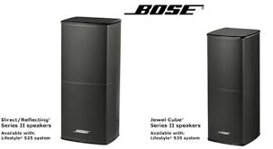 bose jewel cube speakers. bose lifestyle 535 series iii home entertainment system-black-pair jewel cube speakers s