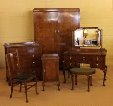 Oak Bedroom Suite Edwardian Oak Bedroom Suite C1910 Antiques Atlas