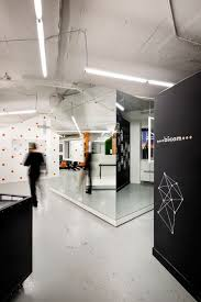 office offbeat interior design. Delighful Office An Openplan Office Full Of Offbeat Houselike Pods For Different Work  Zones With Office Offbeat Interior Design