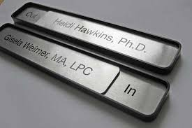 office door signs wall or desktop office name plates and conference signs
