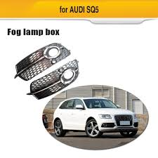 Audi Q5 Fog Light Bulb Type Us 89 44 Fog Lamp Grill For For Audi Q5 S Line Sq5 Sport 2014 2017 4 Door Abs Front Bumper Fog Light Grille Box In Racing Grills From Automobiles