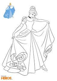 Cette Semaine Tous Les H Ros Vous Propose D Imprimer 5 Nouveaux Coloriage De Princesse Cendrillon L