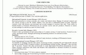 Retail Account Executive Cover Letter Andrews International