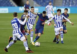 Currently, atlético madrid rank 1st, while real sociedad hold 5th position. Watch Mario Hermoso Gives Atletico Madrid The Lead At Real Sociedad Football Espana