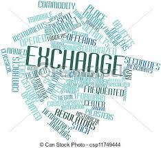 Termes, étiquettes, résumé, échange, apparenté, mot, nuage.   CanStock