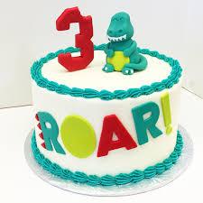 Dinosaur Birthday Les Amis Bake Shoppe