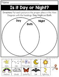 How To Put A Venn Diagram In Word Day And Night Venn Diagram