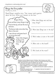 Reading comprehension worksheets for 2 nd grade contemporary ...