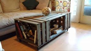 stunning apple crate coffee table 11 diy wooden crate coffee table ideas large version