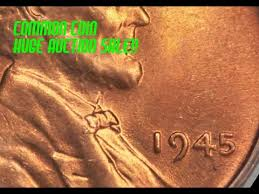 1945 Wheat Penny Value Chart Wild 1945 Lincoln Wheat Cent Sells For Over 3 300 How Can This Common Date Sell For So Much