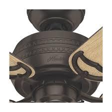 hunter fan company 53383 prim indoor ceiling fan premier bronze