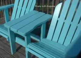 double adirondack chair plans. DIY Twin Adirondack Chairs Double Chair Plans A