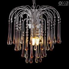 drop chandelier in amber clear glass original murano glass chandelier venetian drop original murano glass 0028 jpg
