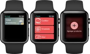 Lista De Compras Para El Supermercado Bring O La Lista De La Compra Perfecta Para Apple Watch Y Iphone