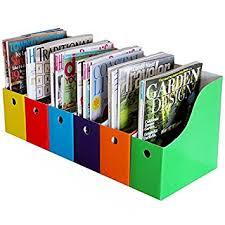 Cardboard Magazine File Holders Amazon Evelots 100 MagazineFile Holders Labels Assorted 56