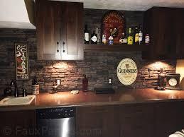 stone veneer kitchen backsplash. Kitchen Backsplash Manufactured Stone Veneer Stacked Intended For Proportions 1600 X 1200 L