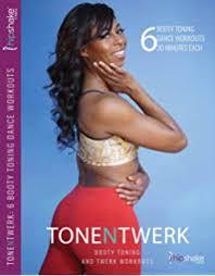 tone n twerk booty toning twerk dance workout dvd