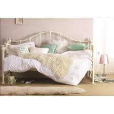 white iron daybed. Perfect White Hyder Day Bed Finished In Cream Cast Iron With Or Mattress Inside White Daybed