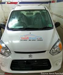 new car launches team bhpScoop Pics Maruti Alto 800 Facelift caught EDIT Now launched at