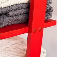 Sobuy Modernes Leiterregal Aus Holz Mit Vier Böden