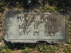 Iva Annette Dunn (1880-1963) - Find A Grave Memorial