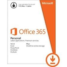 Microsoft Office 365 Pricing Microsoft Office 365 Personal 32 64 Bit 1 Year Subscription