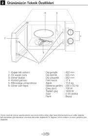 Mikrodalga fırın Kullanma kılavuzu MD PDF Ücretsiz indirin