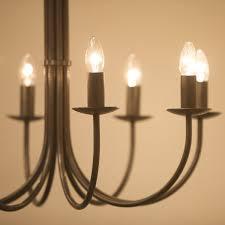 hartcliff 8 light wrought iron chandelier 800mm diameter