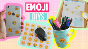 Diy Projects 4 Emoji Diy Projects Part 2 Diy Phone Case Desk Decor More