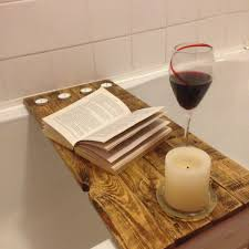 wine and book holder for bathtub bathtub ideas amazing ideas