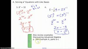 solving logarithmic equations worksheet solving exponential and
