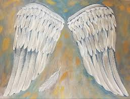 how to paint angel wings acrylic painting tutorial angelafineart on you art
