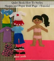 doll quiet book page