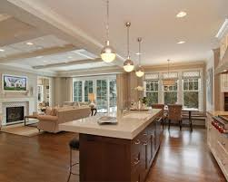 traditional open kitchen designs. Open Concept Living Room Kitchen Design, Pictures, Remodel, Decor And Ideas - Page 3 Traditional Designs
