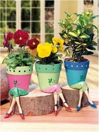 Flower Pots - A Beautiful Way to Brighten Your House - Find Fun Art  Projects to