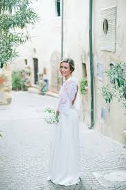 simple italian wedding with effortless style