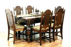 oak dining sets for 6 surprising furniture round glass dining table for 6 popular on solid