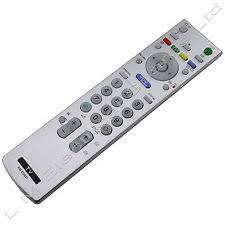 sony tv remote silver. television tv remote control for sony bravia rm-ed007 lcd telly controller tv silver t