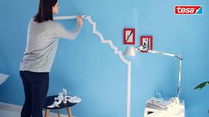 Tesa Diy Tipp Elegante Wandgestaltung Im Schlafzimmer Youtube
