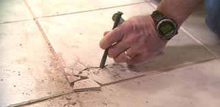 Bathroom Tile Repair Stunning How To Remove And Replace A Damaged Ceramic Tile Today's Homeowner