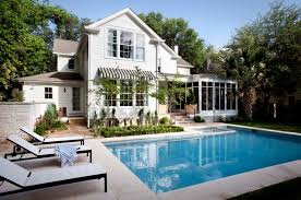 beautiful house pools. Plain House Amazing Outdoor Swimming Pool Design Idea Applied In House Plan With Pools  White With Beautiful