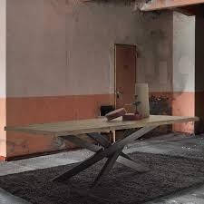 Moderner Esstisch Holz Metall Rechteckig Briccole Formenti
