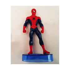 Spiderman Cake Topper Standing Pose Figurine For Kids By Gus Shop